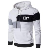Sweater hoodie Triva-ZP baju kaos lengan panjang pria jaket olahraga