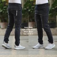 Celana panjang Jogger jeans l Celana panjang Jogger buat pria dewasa k