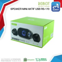 Speaker Mini Aktif USB Robot RS170