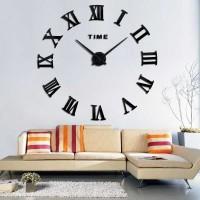 Jam Dinding Besar / DIY Giant Wall Clock 30-60cm Diameter - ELET00662