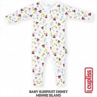 Minnie Island Little Palmerhaus Baby Sleepsuit Disney Baju