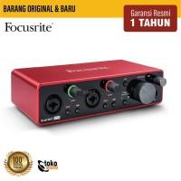 Focusrite Scarlett 2i2 3rd Generation (USB Audio Interface)