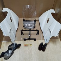 fairing fering set sayap ninja ssr putih