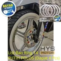 List / Trim / Pita Ban Sepeda Motor - Ring 14 - Mio, Beat, Vario, Dll