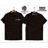 Polo Shirt Kaos Kerah TRD Toyota Racing Development Mobil Otomotif