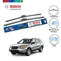 "Bosch Sepasang Wiper Mobil Santa FE Frameless Advantage 22"" & 19"""
