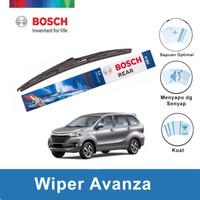 "Bosch Rear Wiper Kaca Belakang Mobil Avanza Rock Lock 2 14"" H352 -1Pcs"