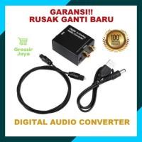 Kabel Toslink 1M+ Digital To Analog Audio Converter Optical to RCA TV
