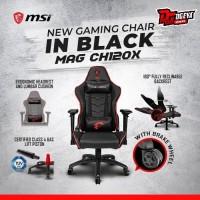 MSI MAG CH120X Gaming Chair Office - Kursi Kantor Gaming