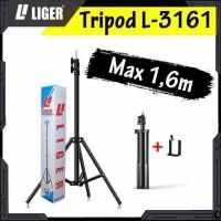 L-3161 Photography Light Stand Portable 160cm (Medium) with Holder U