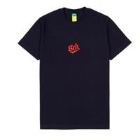 sch/cental ss navy blue t-shirt