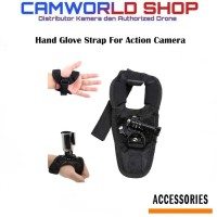 For Go Pro 360 Degree Rotation Glove style Wrist Hand Band Mount Strap