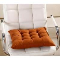 Bantal duduk alas kursi bisa untuk mobil Uk 50x50 cm
