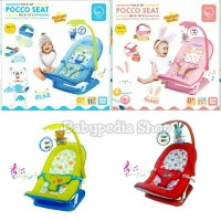 BabyElle Baby Elle Fold Up Infant Seat Bouncer Tempat Duduk Kursi Bayi