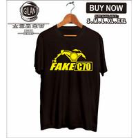 KAOS BAJU MOTOR I AM FAKE C 70 C70 HONDA RACING OTOMOTIF - GILAN CLOTH