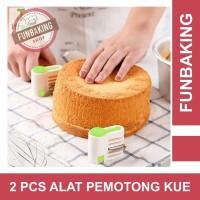 FunBaking - 2PCS ALAT PEMOTONG KUE / ROTI 5 LAPIS
