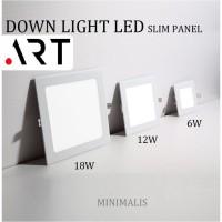 DOWNLIGHT LED IB KOTAK 3/6/12/18 WATT / LAMPU PLAFON / LAMPU RUMAH