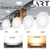 DOWNLIGHT LED IB BULAT 3/6/12/18 WATT / LAMPU PLAFON / LAMPU RUMAH