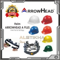 Helm Safety Set Inner Pusher Tebal Mengkilap Merk A Plus Arrow Head