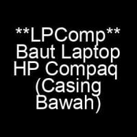 Baut Laptop HP Compaq (Back Cover / Casing Bawah)