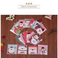 kartu ucapan natal / christmas 3d greeting card santa murah