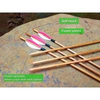 Anak panah untuk anak anak dari bambu