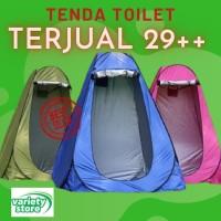 Tenda portable ruang ganti baju pakaian toilet Tenda Outdoor fitting - camuflase