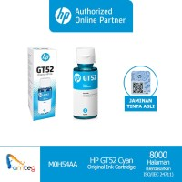 Tinta HP GT52 Cyan Original Ink Bottle [M0H54AA]