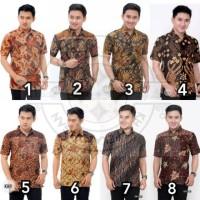 Baju HEM Kemeja Batik Pria Ayah Laki-laki Katun Halus Murah Pekalongan