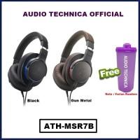 Audio Technica ATH-MSR7B Headphones Headset ATH MSR7 B