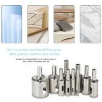 Mata Bor Hole Saw Diamond Satu Set Untuk Marmer Keramik Kaca Granit