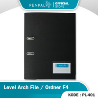 Penpal Level Arch File / Ordner Folio PL-401 - Hitam