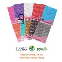 Plastik HD tanpa plong 30x40 isi 100 lembar REA plastik online shop