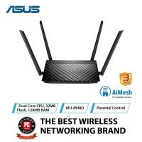 ASUS RT-AC59U V2 AC1500 Dual Band Gigabit WiFi Router with AiMesh