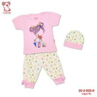 Baby Lona Setelan Anak Bayi Fashion Joger Girl Kancing Pundak_04