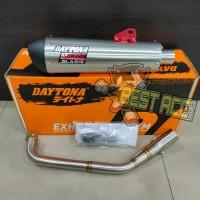 Knalpot Racing Daytona Slash GP Taper FREE DB Killer Yamaha Nmax 155