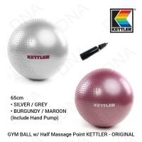 Gym Ball 65cm With Pressure Points Massage KETTLER - ORIGINAL
