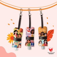 Hand Sanitizer Holder INDONESIAN STRONG WOMAN