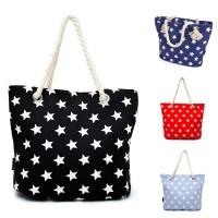 Tas wanita cantik dan fungsional tote bag tersedia 3 warna - Navy Blue