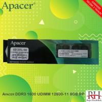 Apacer DDR3 1600 UDIMM 12800-11 8GB RP
