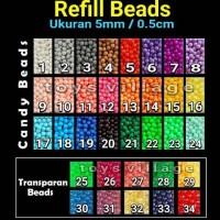 Aquabeads / Aquabead / Aqua Beads / Bead Isi ulang / Refill Pack