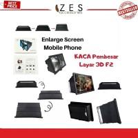 Kaca Pembesar Layar 3D F2 Enlarge Screen MobilePhone F2-Smartphone 3D