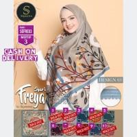 SEFRE03 - Jilbab Segi Empat Freya Syari Jumbo Motif 3 By Signarica