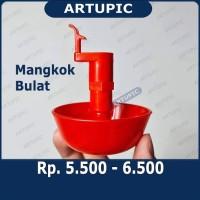 Mangkok BULAT untuk nipple ayam A3 dan A9 Artupic