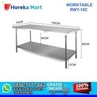 Meja Stainless Steel Untuk Dapur / Worktable RWT-10