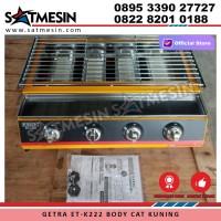 GETRA Panggangan Gas Roaster BBQ Kompor 4 Tungku ET - K222 ET-K222 ETK