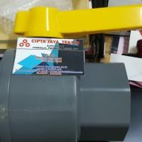 ball valve pvc onda 2 1/2 inch