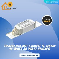 ballas balast travo trafo EBC elektronik lampu TL Neon 36 W