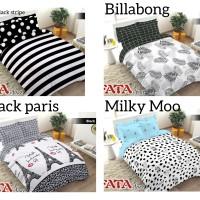 FATA Bed Cover Set Signature Ukuran Queen 160X200 DAN King 180X200