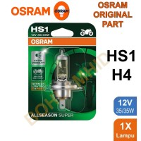 BOHLAM OSRAM ALL SEASON SUPER HS1/ H4 35/35